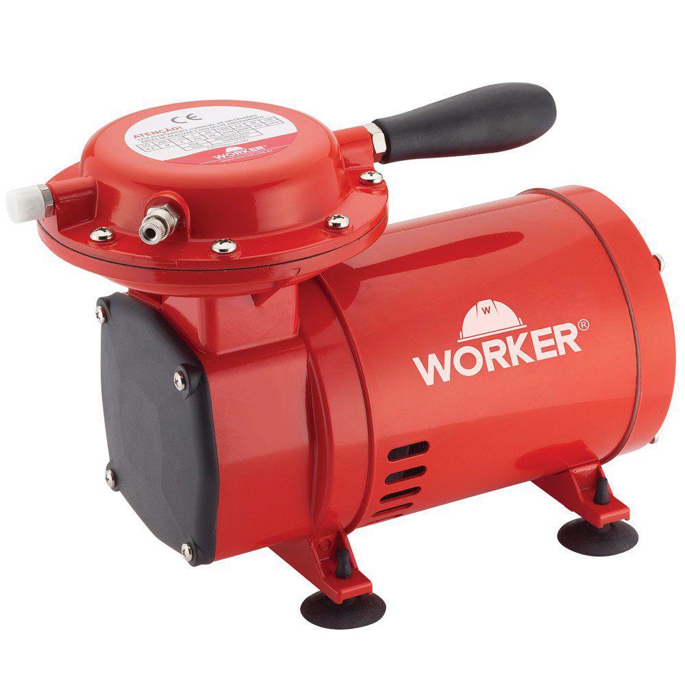 Compressor de Ar Direto + Kit pintura – Worker