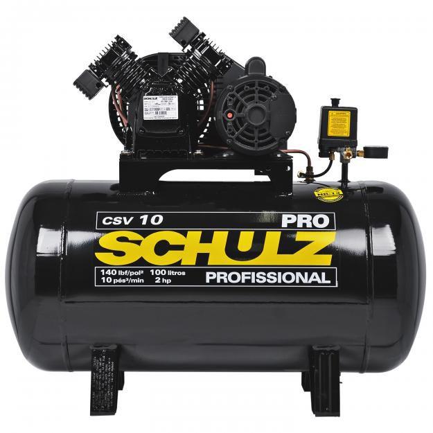 Compressor de Ar (Pistão) Pro - CSV 10/100 – Schulz