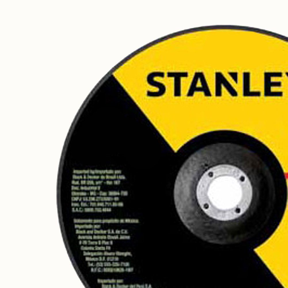 Disco de Desbaste 7'' x 1/4'' x 7/8'' – STA0414 – Stanley