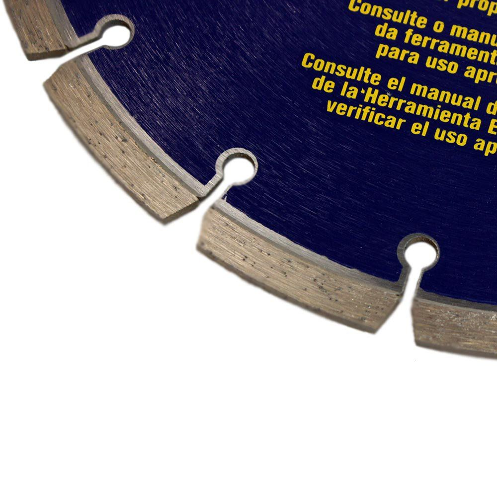Disco Diamantado Premium Segmentado – 9'' x 7/8'' – IW8948 – Irwin