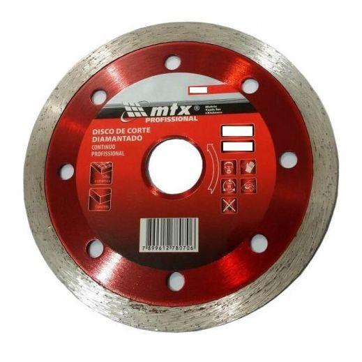 Disco Diamantado Contínuo – 230 mm x 22,2 mm – 731919 – Mtx