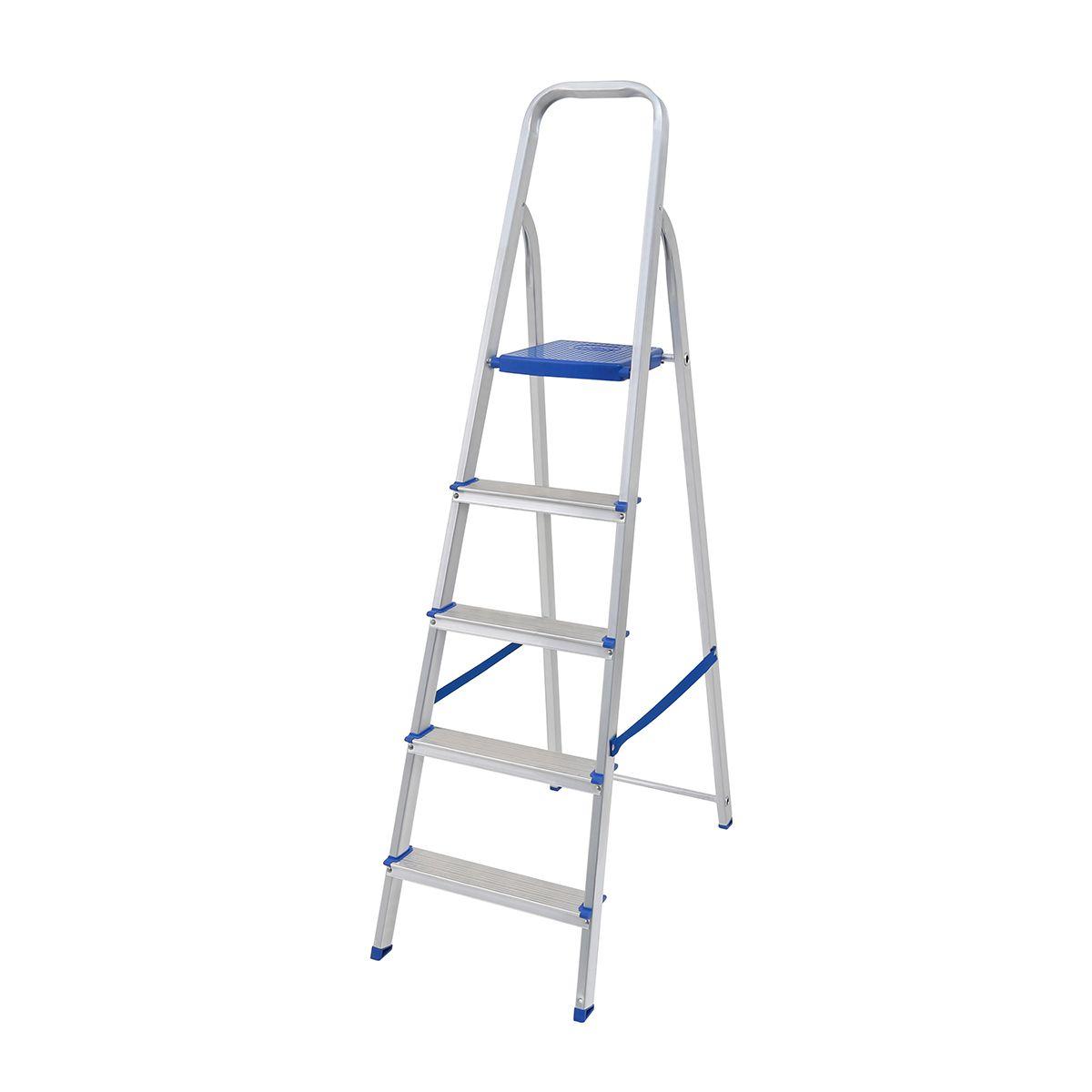 Escada de Alumínio 5 Degraus – MOR