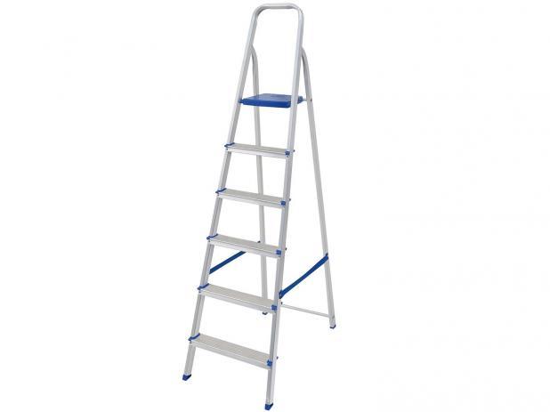 Escada de Alumínio 6 Degraus – MOR