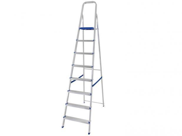 Escada de Alumínio 8 Degraus – Mor