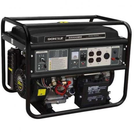 Gerador Monofásico a Gasolina – S3500 MG – Schulz