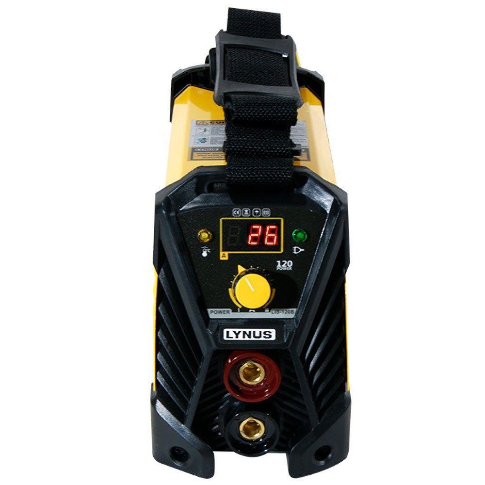 Inversora de Solda 120A Bivolt – LIS-120B Power