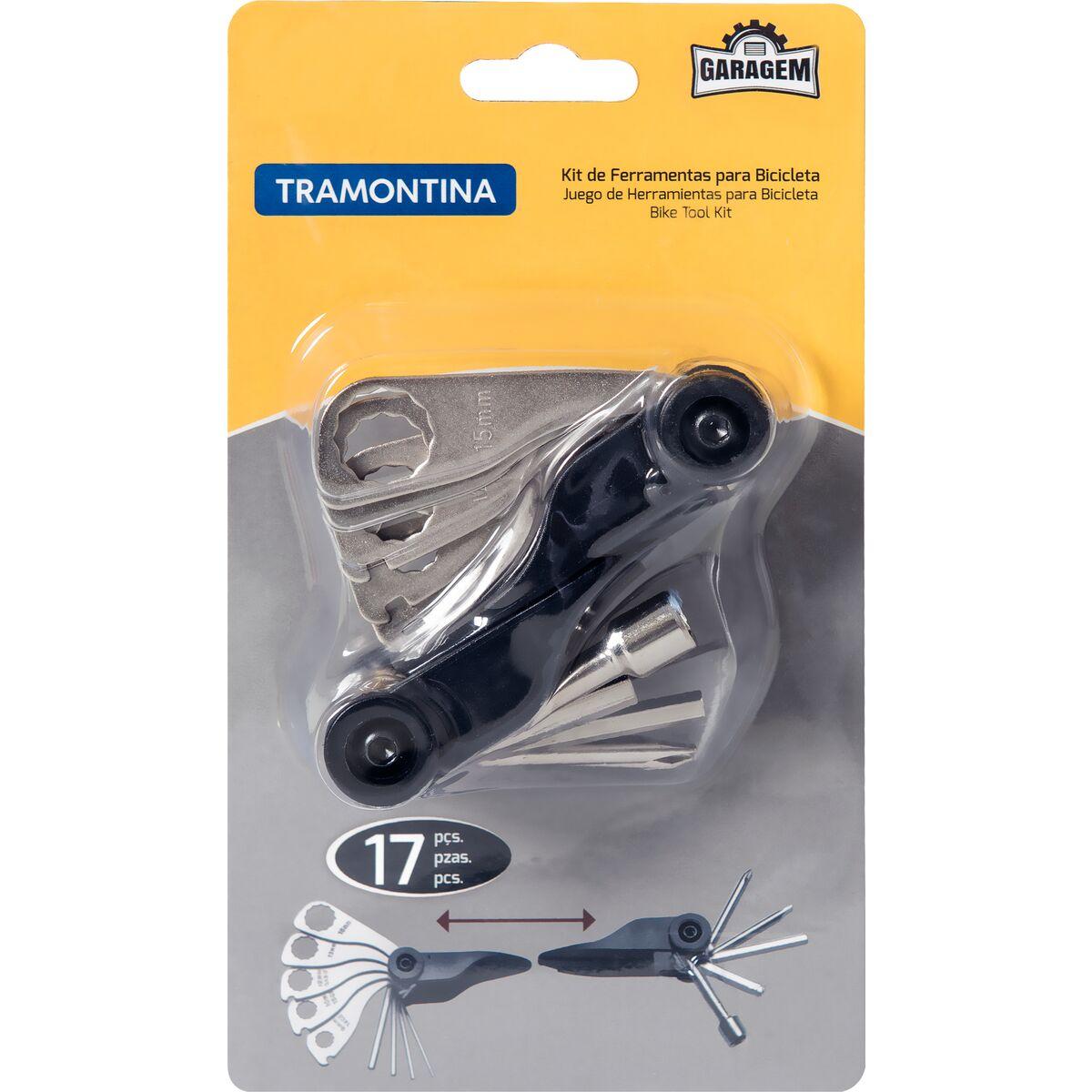 Kit de Ferramentas para Bicicleta 17 peças - Tramontina
