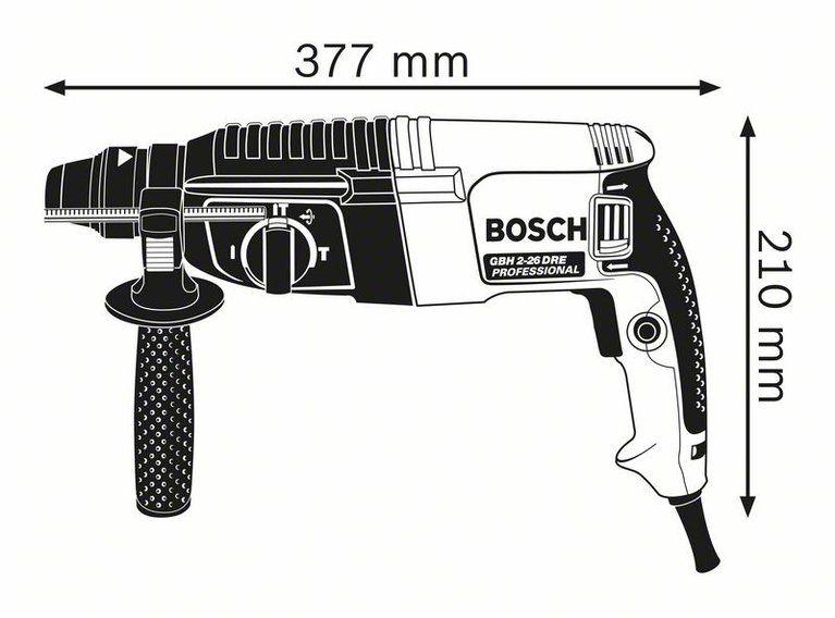 Martelete/Martelo Perfurador SDS plus – GBH 2-26 DRE – Bosch