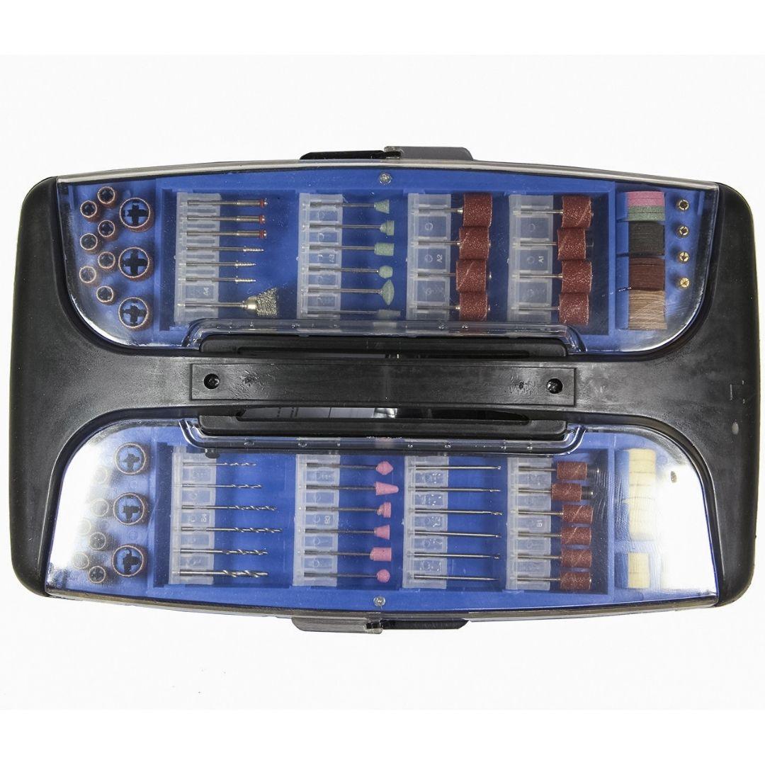 Micro Retífica 135W + Maleta Com 189 Acessórios - Einhell