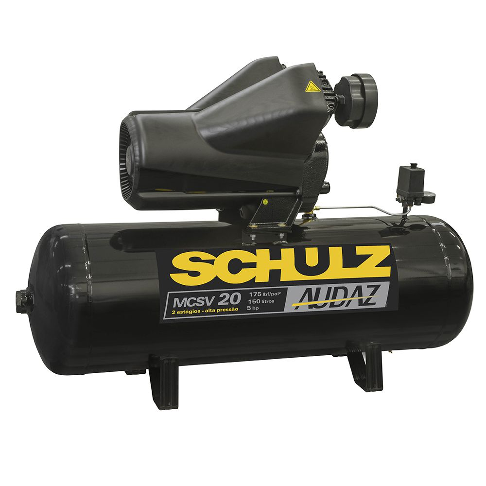 Motocompressor de Pistão Audaz MCSV 20/150 – Schulz
