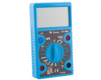 Multímetro Digital ET1000 – Minipa