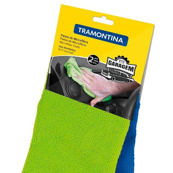 Pano de Microfibra para Limpeza – Tramontina