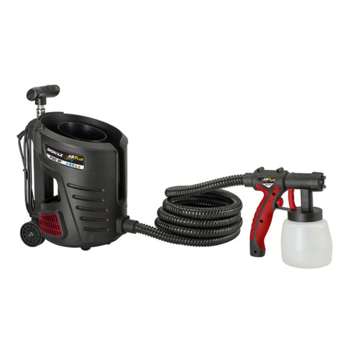 Pistola Pulverizadora Air Plus Spray 700W – Schulz