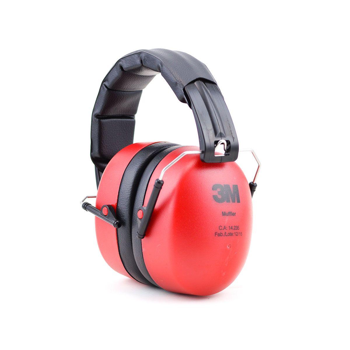 Protetor Auditivo Abafador tipo concha - Muffler  3M