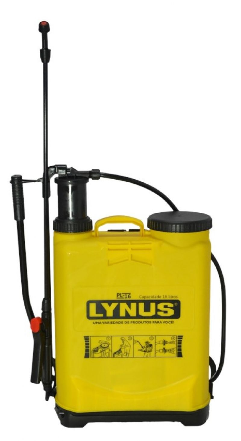 Pulverizador Manual 16 Litros – PL-16 – Lynus