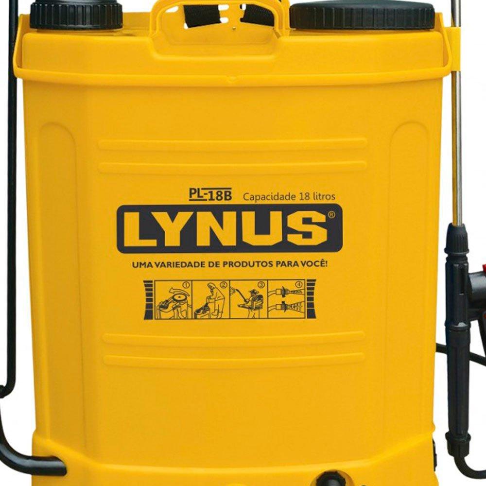 Pulverizador Manual 18 Litros – PL-18B – Lynus