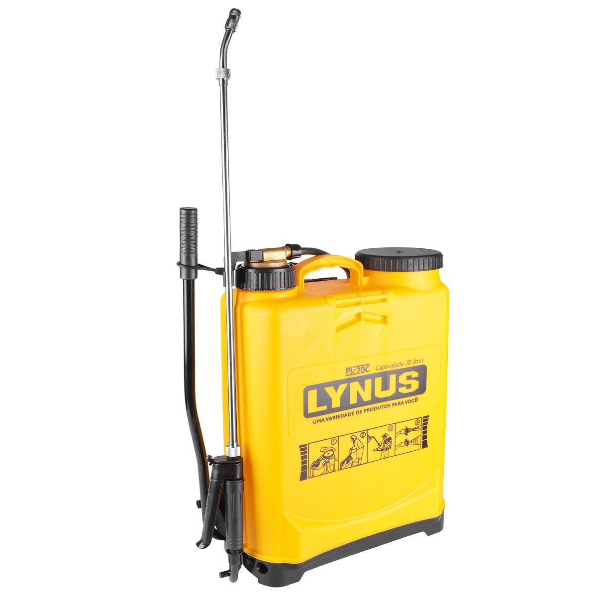 Pulverizador Manual de Cobre – PL-20C – Lynus