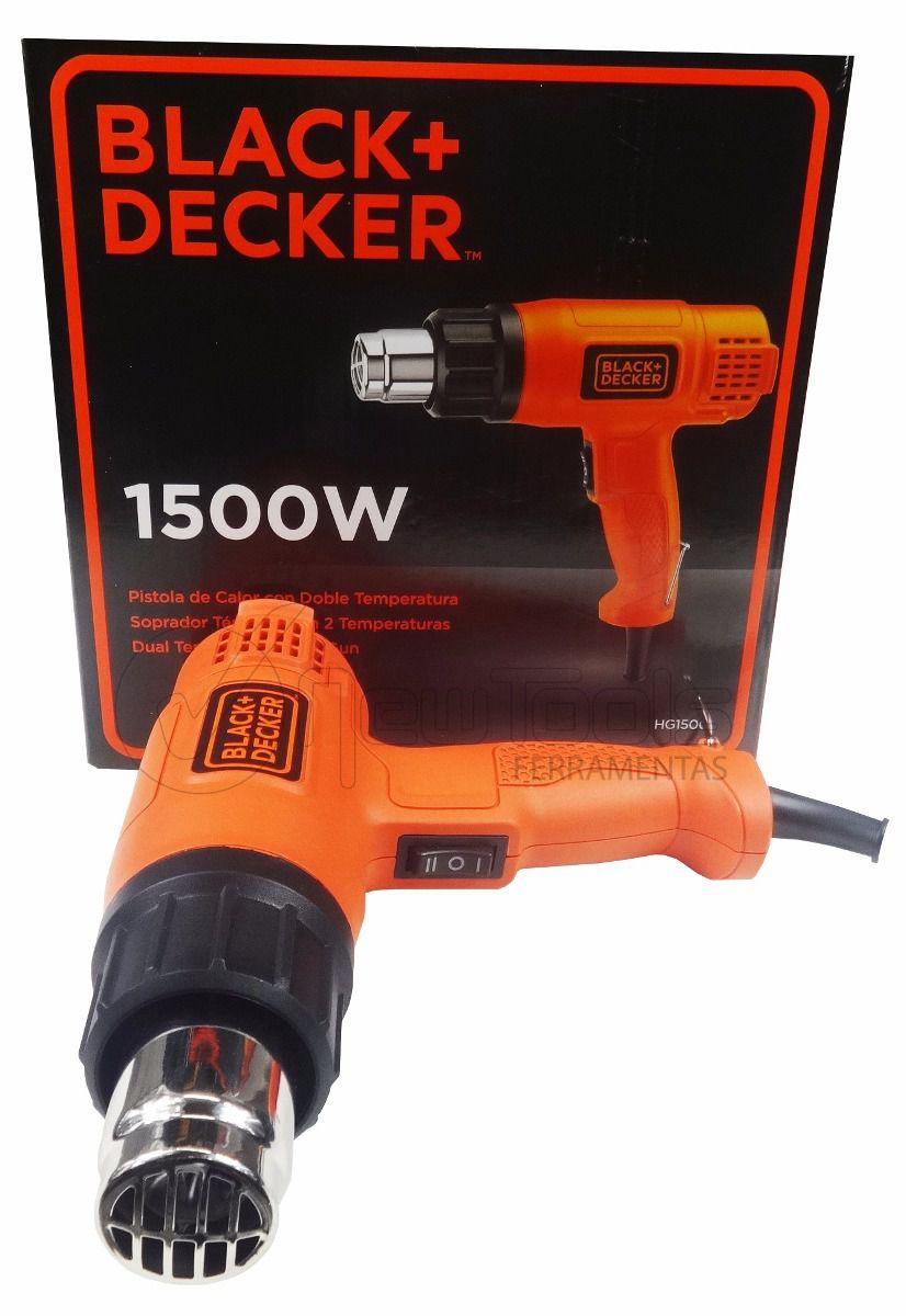 Soprador Térmico 1500 W – HG1500 - Black+Decker