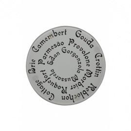 Tábua de Petiscos Queijo com Pés Altos 30cm Vitra - Mor