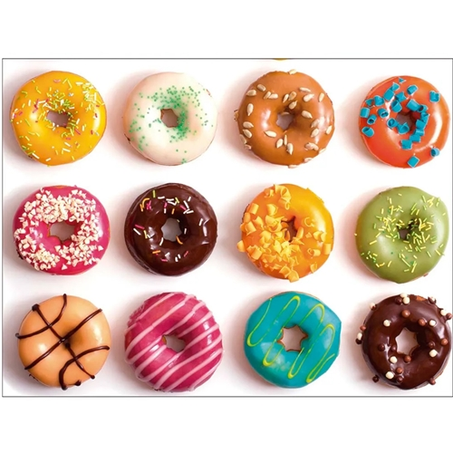 Tábua de Vidro Temperado Donuts - MOR