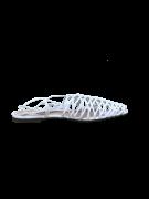 SCHUTZ - RASTEIRA CAGE STRAPS COURO WHITE FORN: S2082057901000002U