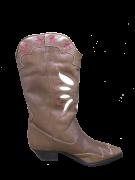 SCHUTZ - BOTA WESTERN FLAT BROWN FORN:S2051400040001