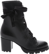 SCHUTZ - COMBAT BOOT LACE UP BLACK - FORN: S2055600030001