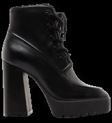 SCHUTZ - COMBAT BOOTS BLACK - FORN: S2099600030002U