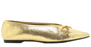 SCHUTZ - SAPATILHA POINTY DOURADA FORN:S2057901190002