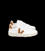 VERT - V-12 COURO EXTRA WHITE CAMEL REF:XD022322A
