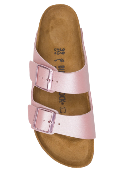BIRKENSTOCK - ARIZONA BF ICY METALLIC OLD ROSE FORN: 1016029