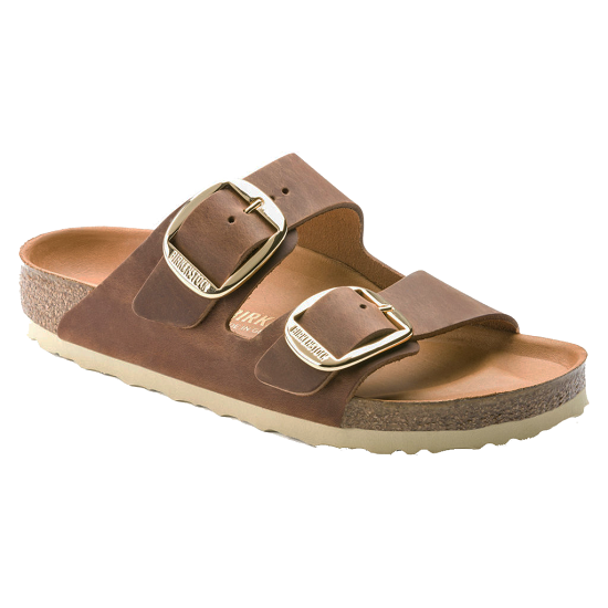 BIRKENSTOCK - ARIZONA BIG BUCKLE FL COGNAC FORN: 1011073