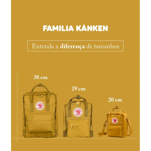 FJÄLLRÄVEN - MOCHILA KÅNKEN CLÁSSICA PASTEL LAVENDER REF. F23510457