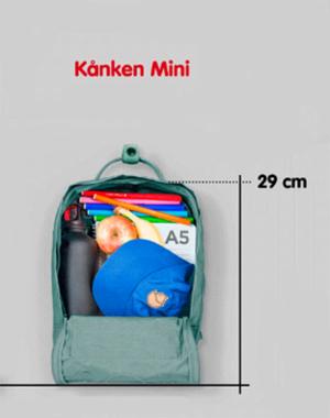 FJÄLLRÄVEN -  MOCHILA KÅNKEN MINI PINK FORN: F23561312