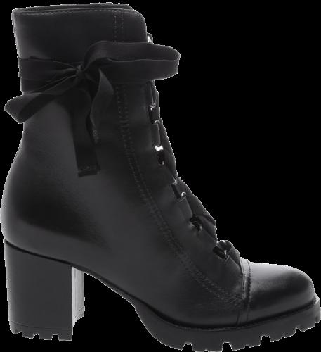 SCHUTZ - COMBAT BOOT LACE UP BLACK - FORN: S2055600030001