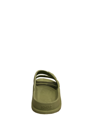 SCHUTZ - SLIDE BUCKLES FULL COLOR GREEN FORN:S2098800010001
