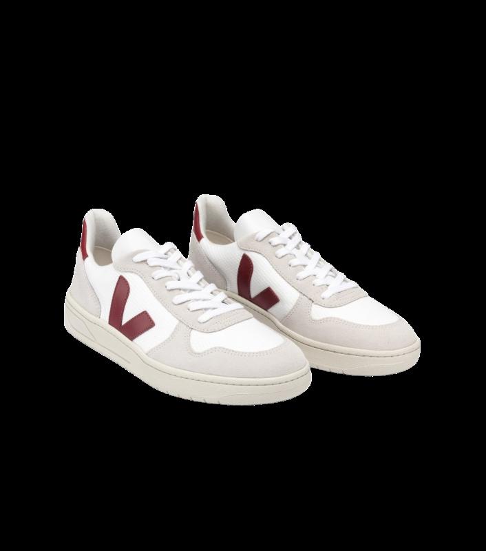 VERT - V-10 B-MESH WHITE NATURAL MARSALA REF. VX011314A