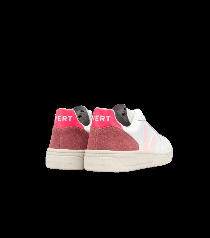 VERT - V-10 COURO EXTRA WHITE PETALE ROSE REF:VX022292A