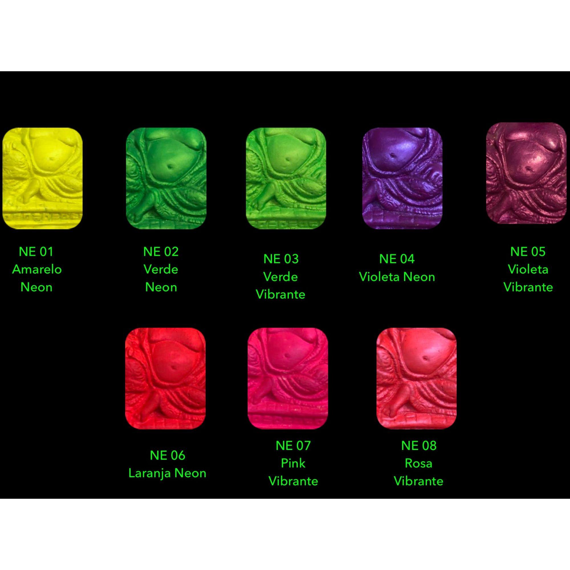 Tinta Neon Verde Vibrante