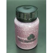 Stencil Past Glitter Rosê