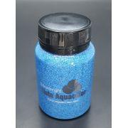 Stencil Past Glitter Azul Celeste
