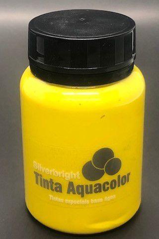Renda Líquida Metálica Amarelo Tropical