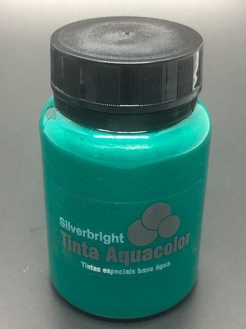 Renda Líquida Metálica Verde Jade