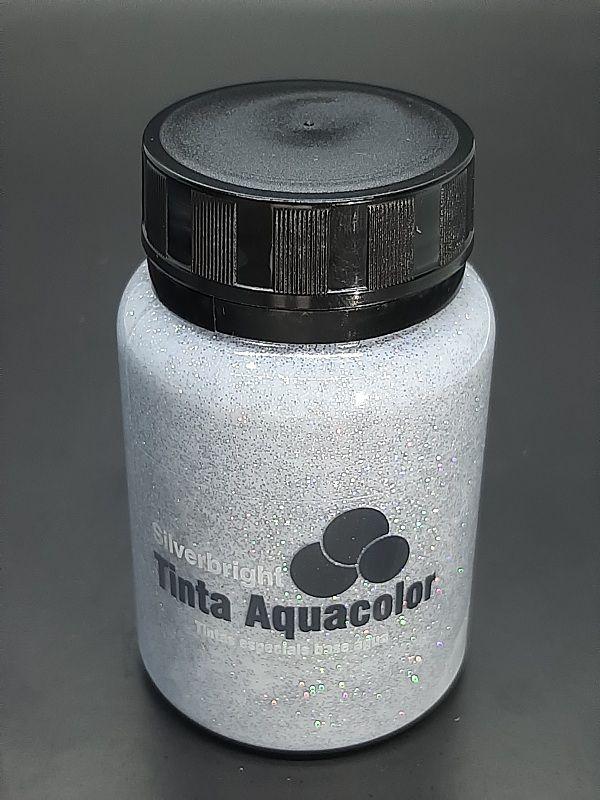 Stencil Past Glitter Holográfico Prata