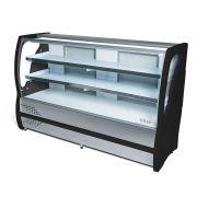 Balcão Refrigerado Inox Vidro Curvo 1,75m  Polar