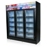 Expositor Vertical Refrigerado Auto Serviço 3 portas 1,80m POLAR