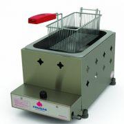 Fritador a Gás Progás 5 Litros 1 Cesto Alta Pressão PR10G