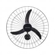 Ventilador de Parede Preto 60cm Bivolt Ventisol