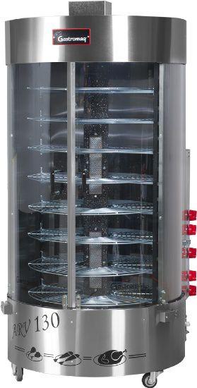 Assador Rotativo Vertical Gastromaq c/ Queimador Central ARV 130 CQC Bivolt