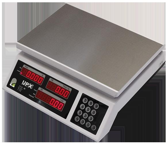 Balança Computadora Eletrônica 20kg com Bateria Ea-20 UPX Selo INMETRO